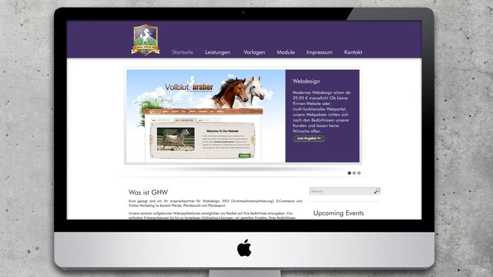 Global Horse Web