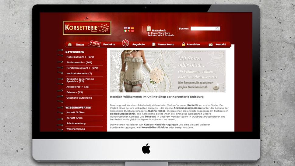 Korsetterie Duisburg